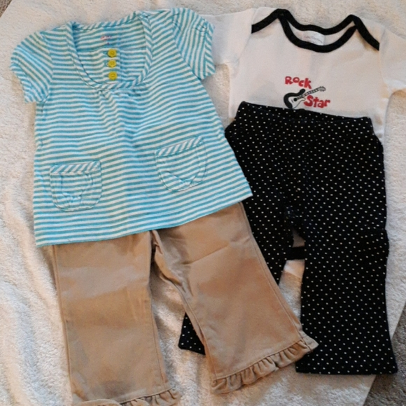 Girls Outfits Size 6 Months